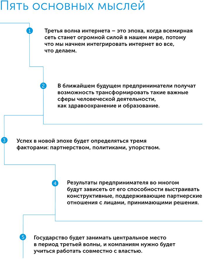 Третья волна. Взгляд предпринимателя на будущее, автор Стив Кейс | Kyivstar Business Hub, изображение №2