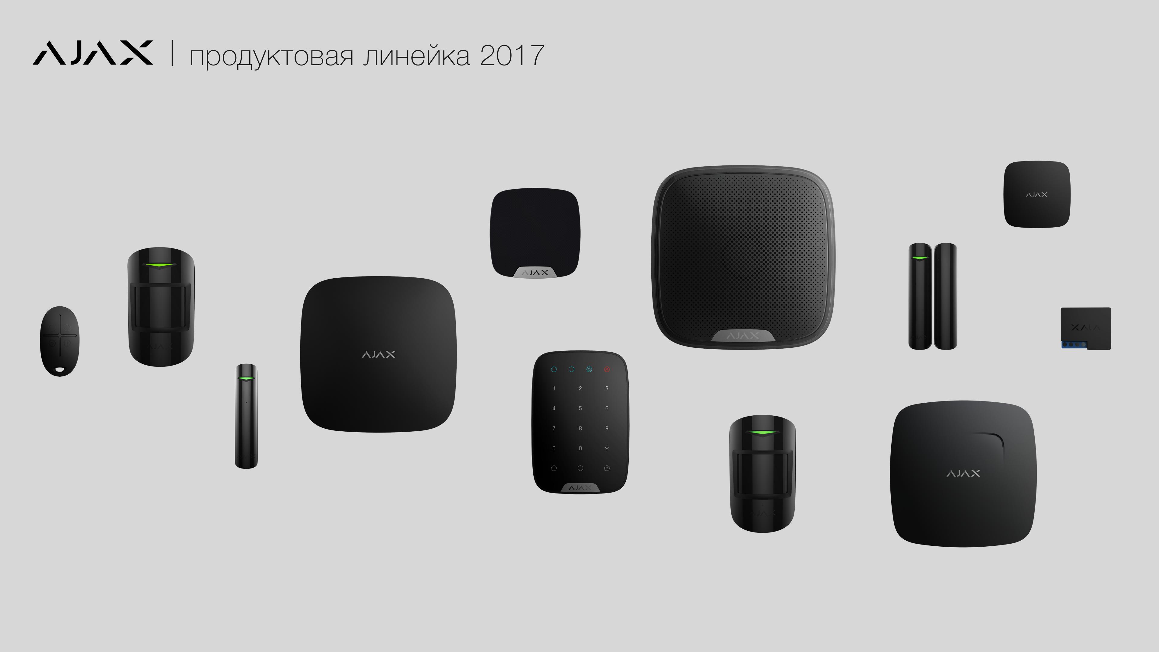 Продуктовая линейка 2017 года
