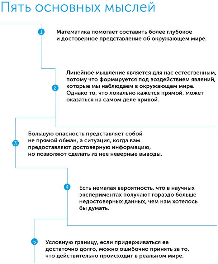 Как не ошибаться. Сила математического мышления, автор Джордан Элленберг | Kyivstar Business Hub, изображение №2