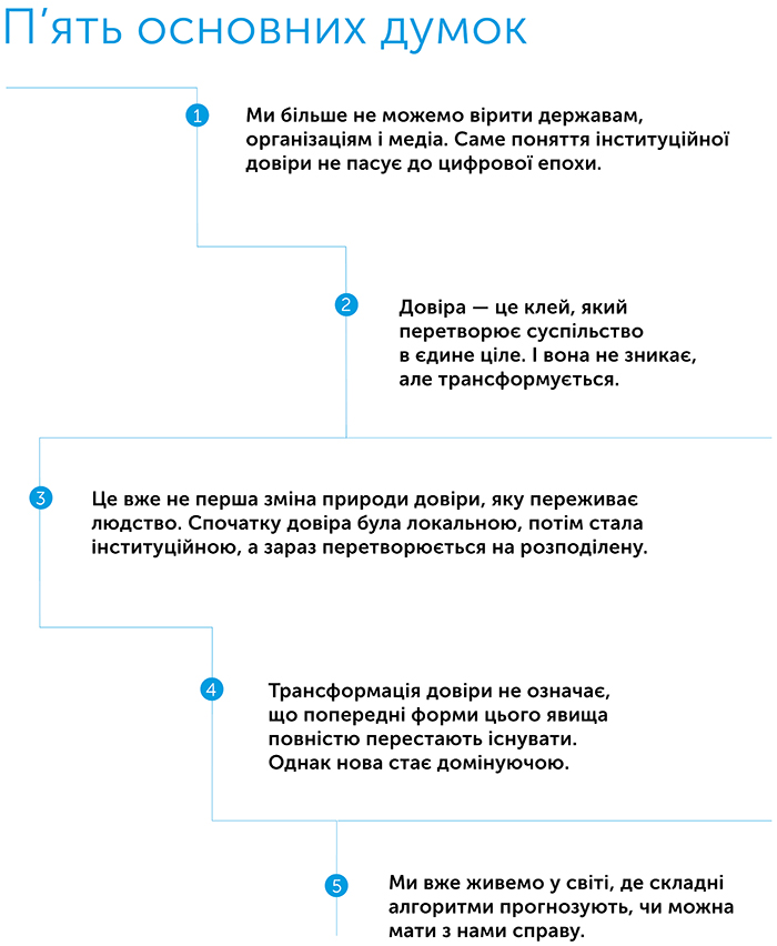 Кому можна довіряти? Як технології об'єднали нас – і чому вони можуть нас роз'єднати?, автор Рейчел Ботсман | Kyivstar Business Hub, зображення №2