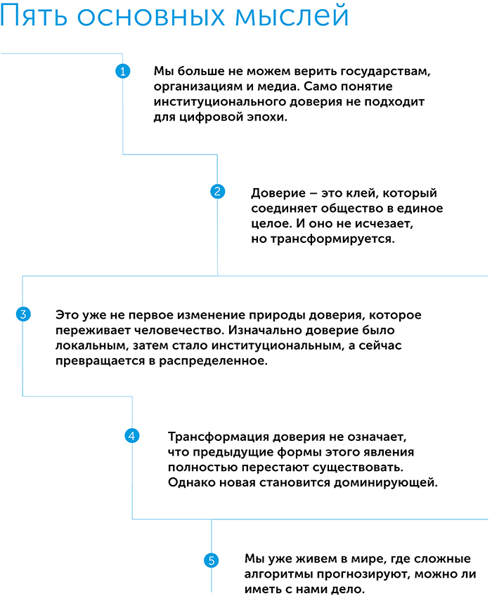 Кому можно доверять? Как технологии объединили нас – и почему они могут нас разобщить, автор Рэйчел Ботсман | Kyivstar Business Hub, изображение №2