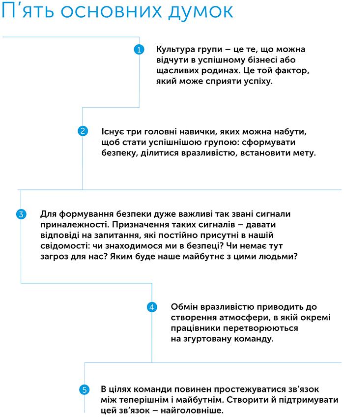 Культурний код. Секрети надзвичайно успішних груп і організацій, автор Деніел Койл | Kyivstar Business Hub, зображення №2