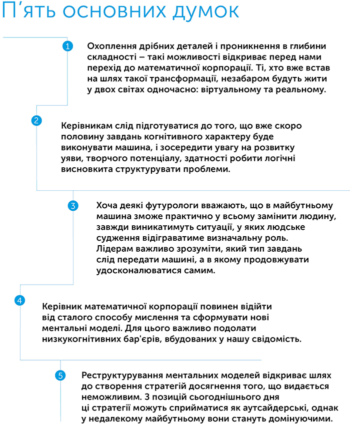 Математична корпорація. Як машинний інтелект і людська винахідливість досягають неможливого, автор Джош Салліван | Kyivstar Business Hub, зображення №2