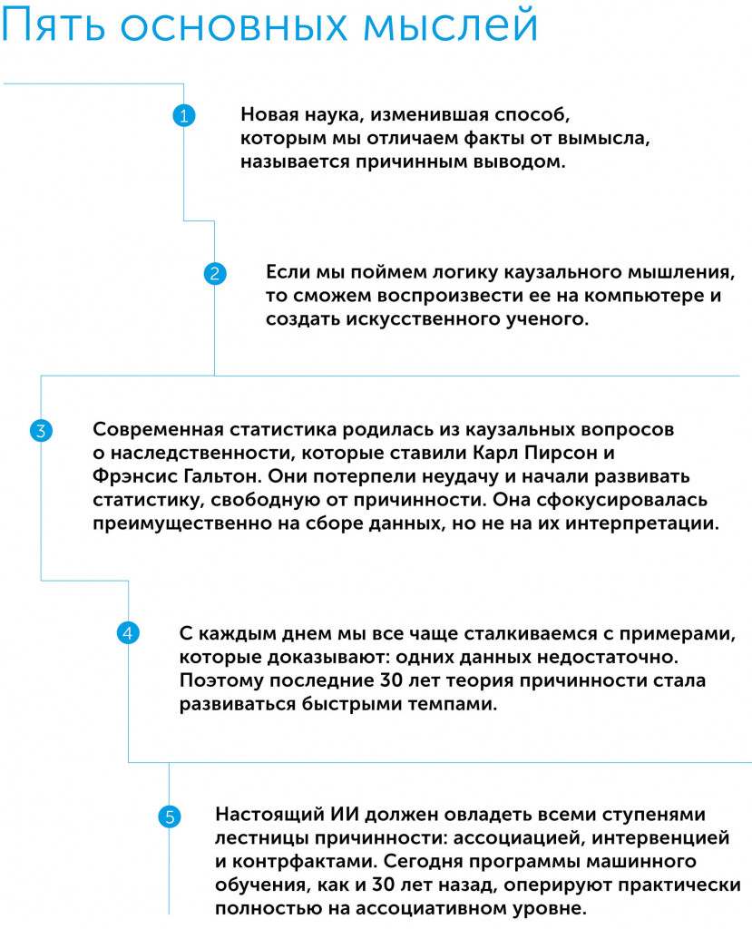Почему? Новая наука о причинно-следственной связи, автор Перл Джуда | Kyivstar Business Hub, изображение №2