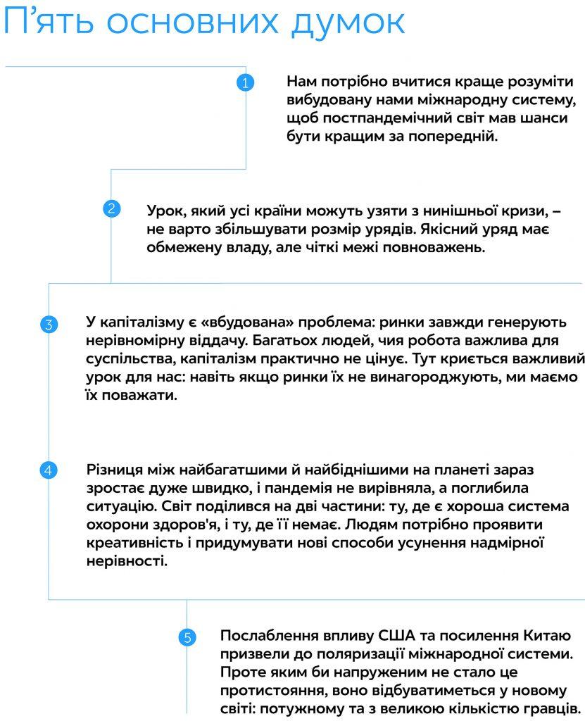 Десять уроків для світу після пандемії, автор Фарід Закарія | Kyivstar Business Hub, зображення №2